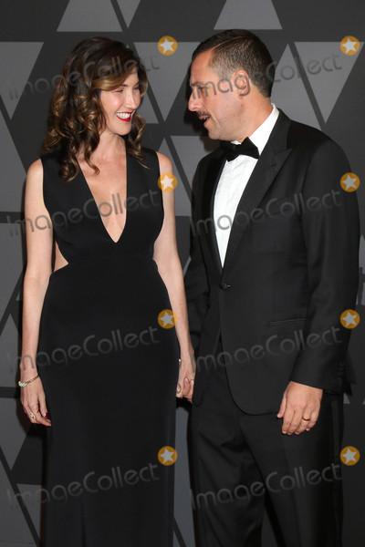 Adam Sandler Photo - Jackie Sandler, Adam Sandler at the AMPAS 9th Annual Governors Awards, Dolby Ballroom, Hollywood, CA 11-11-17