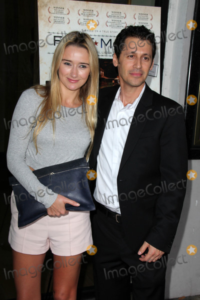 """Andy Hirsch, Amy Shiels Photo - Amy Shiels, Andy Hirsch at the """"Fort McCoy"""" Premiere, Music Hall Theater, Beverly Hills, CA 08-15-14"""