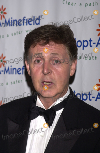 Paul Mccartney, The Specials Photo -  Paul McCartney at the special benefit for Adopt-A-Minefield, Regent Beverly Wilshire Hotel, Beverly Hills, 06-14-01