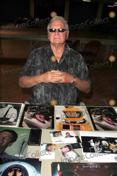 """Gary Lockwood Photo - Gary Lockwood from """"2001: A Space Odyssey"""" and the Star Trek episode """"Where No Man Has Gone Before"""" at the Los Angeles Comic Book and Science Fiction Convention featuring stars from Star Trek and The Outer Limits, in honor of it's 50th  Anniversary, Shrine Auditorium, Los Angeles, CA 08-18-13"""