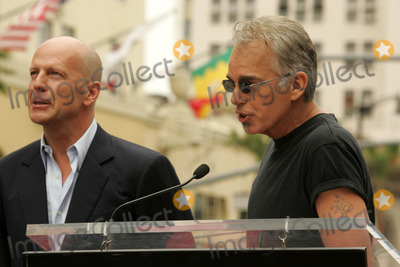 Bruce Willis, Billy Bob Thornton, Billy BOBS Thornton, The Ceremonies Photo - Bruce Willis and Billy Bob Thorntonat the Ceremony honoring Bruce Willis with the 2,321st star on the Hollywood Walk of Fame. Hollywood Boulevard, Hollywood, CA. 10-16-06