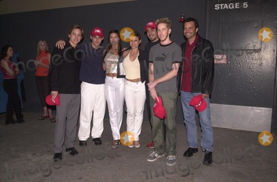 "Jay Kenneth Johnson, Jason Cook, Ashley Lyn Cafagna, Natalie Raitano, Danny Nucci, Chris Owen, Kenneth Johnson Photo -  Jay Kenneth Johnson, Jason Cook, Ashley Lyn Cafagna, Natalie Raitano, Danny Nucci and Chris Owen at Universal's ""Ultimate Graduation"" party in Hollywood, to celebrate the release of ""AMERICAN PIE"" on videotape and DVD. 05-15-00"