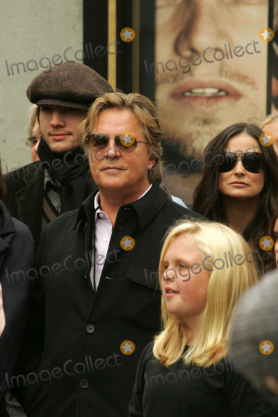Ashton Kutcher, Bruce Willis, Demi Moore, Don Johnson, The Ceremonies Photo - Ashton Kutcher with Don Johnson and Demi Mooreat the Ceremony honoring Bruce Willis with the 2,321st star on the Hollywood Walk of Fame. Hollywood Boulevard, Hollywood, CA. 10-16-06
