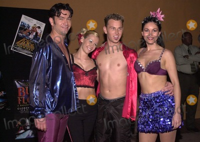 "Photo -  Burn The Floor dancers at the Latin and ballroom dance show ""Burn The Floor"" in Universal City, 03-30-00"
