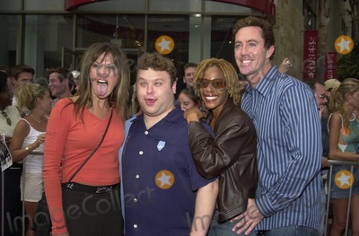 """Madness Photo - Cast of Mad TV at the Finale show for """"American Idol,"""" at the Kodak Theater, Hollywood, CA 09-04-02"""