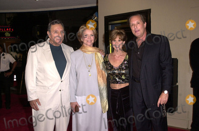 """William Peter Blatty, Ellen Burstyn, Linda Blair, William Friedkin, The Specials, Linda Williams, Peter André Photo -  William Peter Blatty, Ellen Burstyn, Linda Blair, William Friedkin at the premiere for the special edition of """"The Exorcist"""" in Westwood, 09-21-00"""