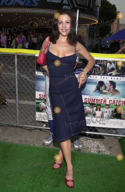 """Christa Campbell Photo -  CHRISTA CAMPBELL at the premiere of Warner Brother's """"Summer Catch"""" at Mann's Village Theater, Westwood, 08-22-01"""