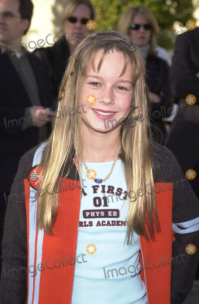 """Brie Larson Photo - Brie Larson at the premiere of Paramount Picture's """"Jimmy Neutron"""" held at Paramount Studios, Hollywood, 12-09-01"""