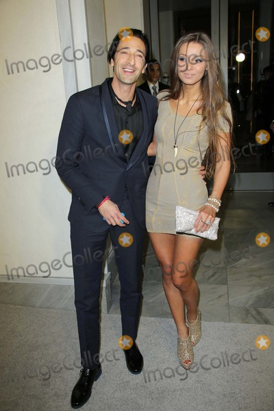 fd353bdacc867 Photos and Pictures - Adrien Brody and Lara Lieto at Tom Ford Cocktails In  Support Of Project Angel Food Media. Tom Ford