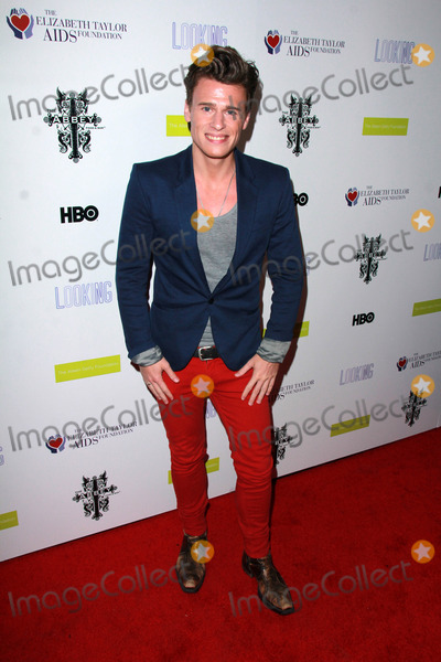"""Elizabeth Taylor, Blake McIvere, Blake McIver Photo - Blake Mcivere at the HBO/Elizabeth Taylor AIDS Foundation/GLAAD """"Looking"""" Season 2 Final Screening and Party, The Abbey, West Hollywood, CA 03-19-15"""