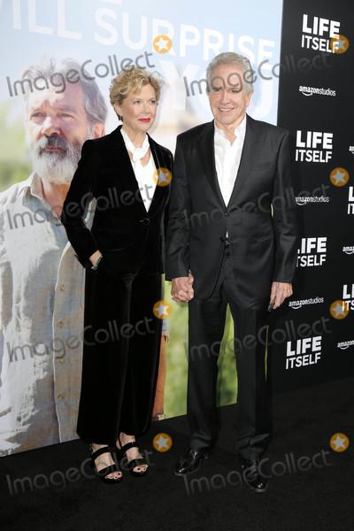 """Annette Bening, Samuel Goldwyn, Warren Beatty Photo - Annette Bening, Warren Beatty at the """"Life Itself"""" L.A. Premiere, Samuel Goldwyn Theater, Beverly Hills, CA 09-13-18"""