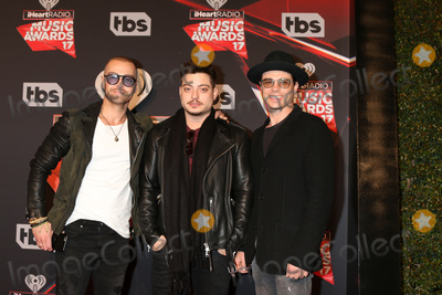 Andrew Lawrence, Joey Lawrence, Matthew Lawrence Photo - Joey Lawrence, Andrew Lawrence, Matthew Lawrence at the 2017 iHeart Music Awards, The Forum, Los Angeles, CA 03-05-17