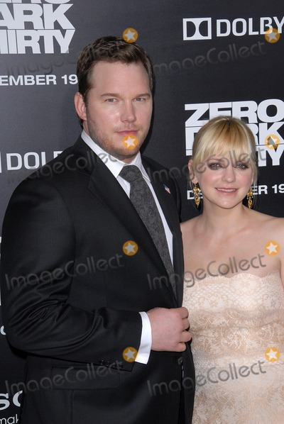 Chris Pratt, Anna Farris, The Darkness, Anna Maria Perez de Taglé Photo - Chris Pratt, Anna Farris