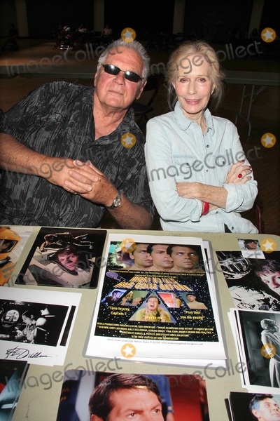 """Gary Lockwood, Sally Kellerman Photo - Gary Lockwood, Sally Kellerman who were co-stars in the Star Trek episode """"Where No Man Has Gone Before"""" at the Los Angeles Comic Book and Science Fiction Convention featuring stars from Star Trek and The Outer Limits, in honor of it's 50th  Anniversary, Shrine Auditorium, Los Angeles, CA 08-18-13"""