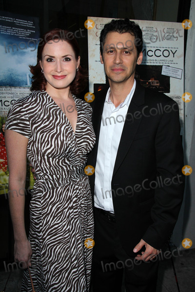 """Andy Hirsch Photo - Stefanie Fredricks, Andy Hirsch at the """"Fort McCoy"""" Premiere, Music Hall Theater, Beverly Hills, CA 08-15-14"""