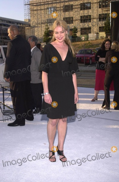 Andy Warhol, Hüsker Dü Photo - Portia Di Rossi at the Museum of Contemporary Art's opening gala for their Andy Warhol exhibit, Los Angeles, 05-22-02