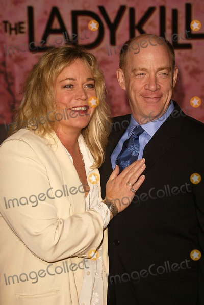 """J.K. Simmons, J K Simmons, J. K. Simmons, JK Simmons, J.K Simmons Photo - Diane Delano and J.K. Simmons at the world premiere of Touchstone's """"The Ladykillers"""" at the El Capitan Theater, Hollywood, CA 03-12-04"""