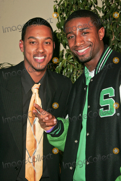 Andre Johnson, Denyce Lawton, Wesley Jonathan Photo - Wesley Jonathan and Andre Johnson at the Top X Calendar Release Pre-Oscar Party hosted by Denyce Lawton and Wesley Jonathan, Loggia, Hollywood, CA 02-23-07