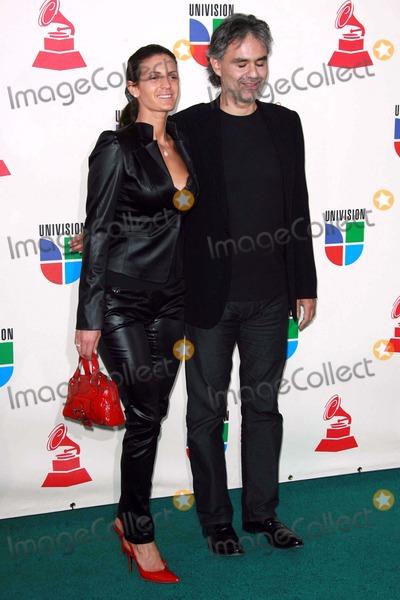 Andrea Bocelli, Grammy Awards Photo - Andrea Bocelli and guestarriving at the 8th Annual Latin Grammy Awards. Mandalay Bay, Las Vegas, NV. 11-08-07