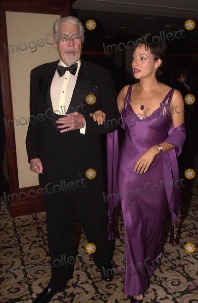 James Coburn, Paula Guilló Photo -  James Coburn and wife Paula at the 2000 Golden Laurel Awards, Beverly Hills, 03-02-00