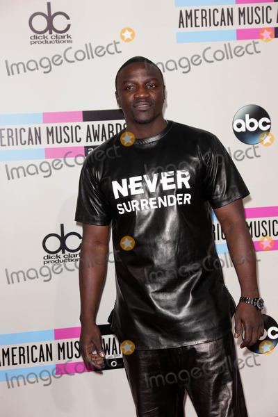 Akon Photo - Akon at The 2013 American Music Awards - Arrivals , Nokia Theater, Los Angeles, CA 11-24-13