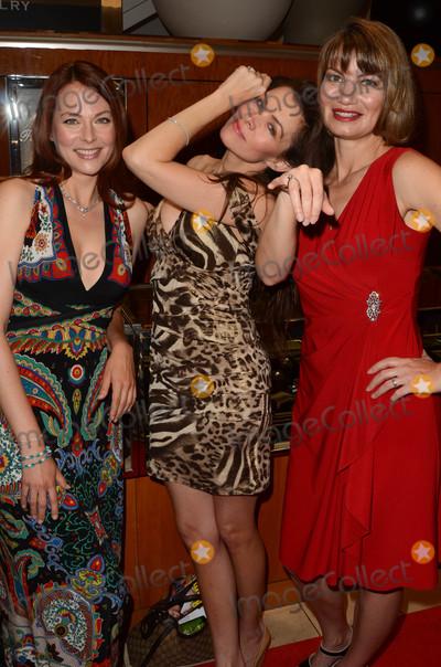 Alicia Arden, Anna Easteden, Rena Riffel Photo - Anna Easteden, Alicia Arden, Rena Riffel at the Iberjoya Jewelry Event, Macys, Woodland Hills, CA 06-12-16