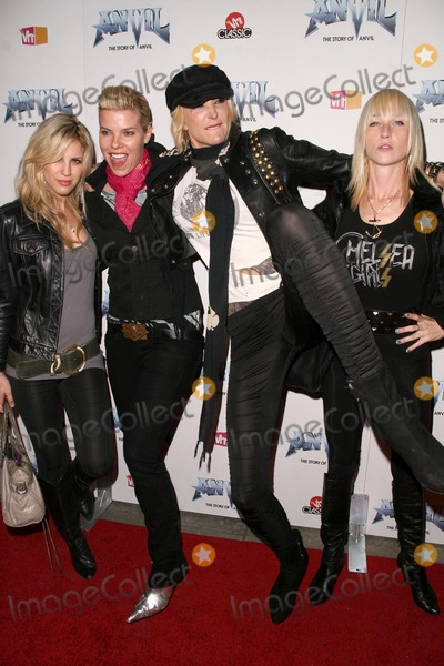 Chelsea Girls, Anvil, Anvil !, Anvil! Photo - Chelsea Girls at the Los Angeles Premiere of 'Anvil! The Story of Anvil'. The Egyptian Theatre, Hollywood, CA. 04-07-09