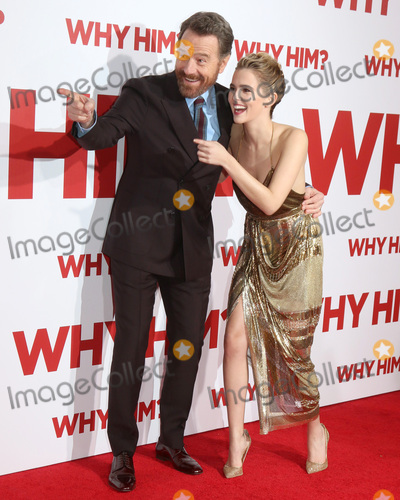 "Bryan Cranston, Zoey Deutch Photo - LOS ANGELES - DEC 17:  Bryan Cranston, Zoey Deutch at the ""Why Him?"" Premiere at Bruin Theater on December 17, 2016 in Westwood, CA"