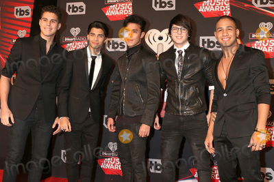 Photo - LOS ANGELES - MAR 5:  Cnco, Zabdiel de Jesus, Erick Brian Colon, Joel Pimentel, Christopher Velez, Richard Camacho at the 2017 iHeart Music Awards at Forum on March 5, 2017 in Los Angeles, CA