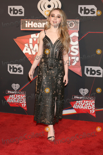 Sabrina Carpenter Photo - LOS ANGELES - MAR 5:  Sabrina Carpenter at the 2017 iHeart Music Awards at Forum on March 5, 2017 in Los Angeles, CA