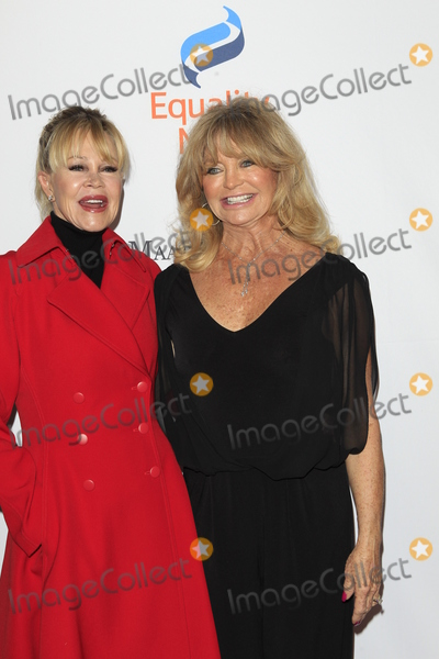 Goldie, Goldie Hawn, Melanie Griffith, Melanie Griffiths Photo - LOS ANGELES - DEC 3:  Melanie Griffith, Goldie Hawn at the Make Equality Reality Gala at the Beverly Hilton Hotel on December 3, 2018 in Beverly Hills, CA