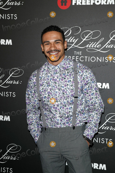 """Noah Gray Cabey, Noah Gray-Cabey Photo - LOS ANGELES - MAR 15:  Noah Gray-Cabey at the """"Pretty Little Liars: The Perfectionists"""" Premiere at the Hollywood Athletic Club on March 15, 2019 in Los Angeles, CA"""