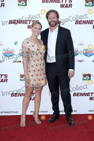 """Courtney Hope Photo - LOS ANGELES - AUG 13:  Courtney Hope Turner, Alexander Hammond  at the """"Bennett's War"""" Los Angeles Premiere at the Warner Brothers Studios on August 13, 2019 in Burbank, CA"""