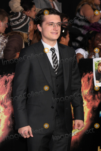 """Josh Hutcherson, The Game Photo - LOS ANGELES - MAR 12:  Josh Hutcherson arrives at the """"Hunger Games"""" Premiere at the Nokia Theater at LA Live on March 12, 2012 in Los Angeles, CA"""