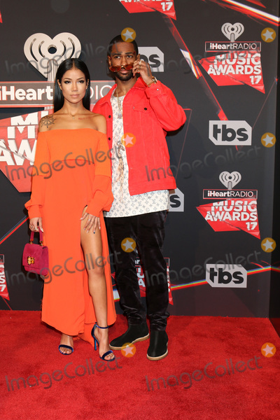 Jhene, Big Sean, Jhene Aiko Photo - LOS ANGELES - MAR 5:  Jhene Aiko, BIg Sean at the 2017 iHeart Music Awards at Forum on March 5, 2017 in Los Angeles, CA