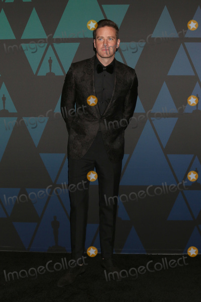 Armie Hammer, Ray Dolby Photo - LOS ANGELES - NOV 18:  Armie Hammer at the 10th Annual Governors Awards at the Ray Dolby Ballroom on November 18, 2018 in Los Angeles, CA