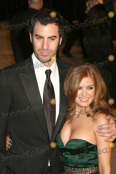 Isla Fisher, Sasha, Sasha Cohen Photo - Sasha Baron Cohen & Isla Fisher