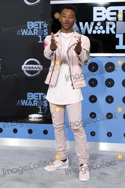 Algee Smith Photo - LOS ANGELES - JUN 25:  Algee Smith at the BET Awards 2017 at the Microsoft Theater on June 25, 2017 in Los Angeles, CA