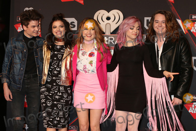 Hey Violet Photo - LOS ANGELES - MAR 5:  Hey Violet, Iain Shipp, Nia Lovelis, Miranda Miller, Rena Lovelis, Casey Moreta at the 2017 iHeart Music Awards at Forum on March 5, 2017 in Los Angeles, CA