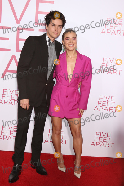 "Cole Sprouse Photo - LOS ANGELES - MAR 7:  Cole Sprouse, Haley Lu Richardson at the ""Five Feet Apart"" Premiere at the Bruin Theater on March 7, 2019 in Westwood, CA"