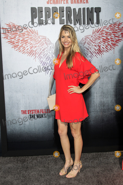 """Jamie Anderson Photo - LOS ANGELES - AUG 28:  Jamie Anderson at the """"Peppermint"""" World Premiere at the Regal Cinemas L.A. LIVE on August 28, 2018 in Los Angeles, CA"""