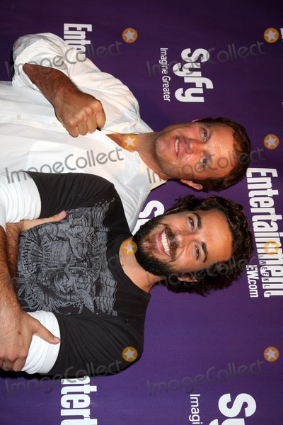 Adam Baldwin, Zach Levi Photo - Adam Baldwin & Zach Levi  arriving at the SyFy / Entertainment Weekly Party at the Hotel Solamar J6 Bar in San Diego, CA on July 25, 2009