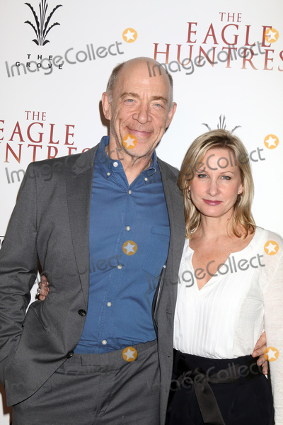 """Eagles, J K Simmons, J. K. Simmons, J.K. Simmons, The Eagles, J.K Simmons Photo - LOS ANGELES - OCT 18:  J. K. Simmons, Michelle Schumacher at the """"The Eagle Huntress"""" Premiere at the Pacific Theatres at The Grove on October 18, 2016 in Los Angeles, CA"""