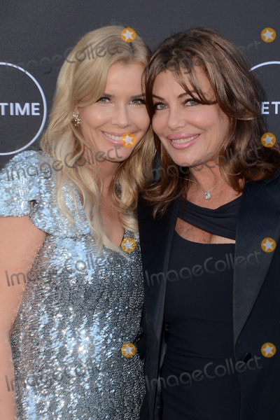 "Andrea Schroder, Kelly Le BROCK Photo - LOS ANGELES - AUG 16:  Andrea Schroder, Kelly Le Brock at the ""Growing Up Supermodel"" Premiere Screening at the Private Estate on August 16, 2017 in Studio City, CA"