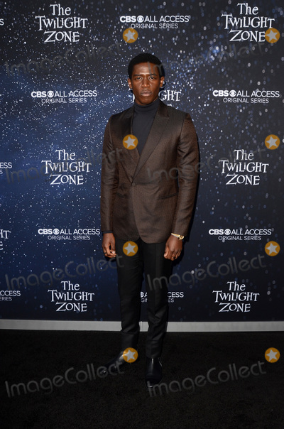 """Damson Idris Photo - LOS ANGELES - MAR 26:  Damson Idris at """"The Twilight Zone"""" Premiere at the Harmony Gold Theater on March 26, 2019 in Los Angeles, CA"""