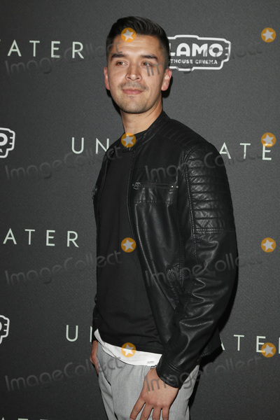 "Photo - LOS ANGELES - JAN 7:  Eduardo Rocha at the ""Underwater"" Fan Screening at the Alamo Drafthouse Cinema on January 7, 2020 in Los Angeles, CA"