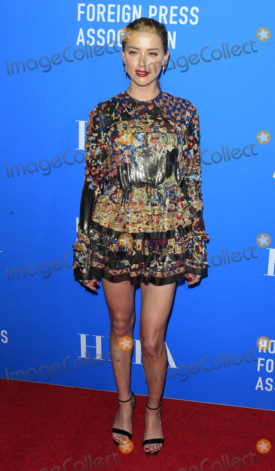 Amber Heard Photo - LOS ANGELES - AUG 9:  Amber Heard at the 2018 HFPA Annual Grants Banquet at the Beverly Hilton Hotel on August 9, 2018 in Beverly Hills, CA