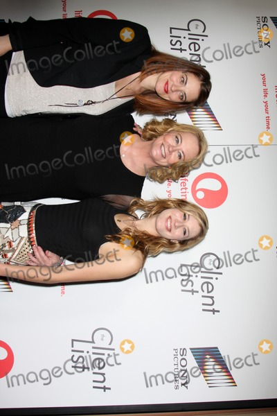"Clementine Ford, Cybill Shepherd, Cybil Shepherd Photo - LOS ANGELES - APR 4:  Clementine Ford, Cybill Shepherd, Ariel Oppenheim arriving at the ""The Client List"" Launch Party at Sunset Tower Hotel on April 4, 2012 in West Hollywood, CA"