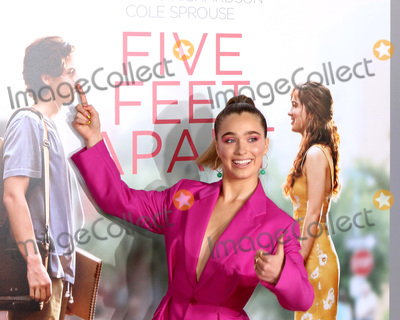 """Photo - LOS ANGELES - MAR 7:  Haley Lu Richardson at the """"Five Feet Apart"""" Premiere at the Bruin Theater on March 7, 2019 in Westwood, CA"""