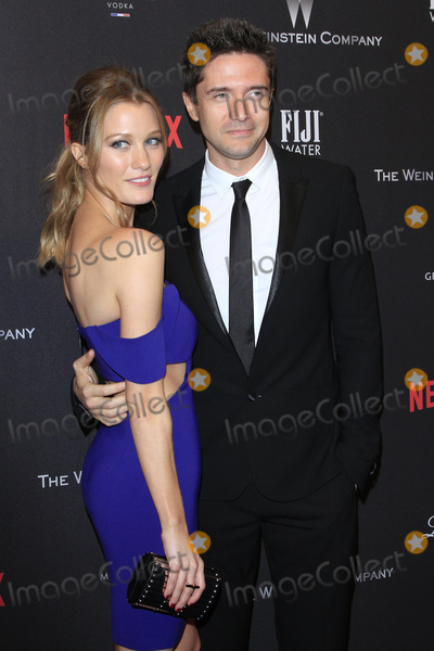 Ashley Hinshaw, Topher Grace Photo - LOS ANGELES - JAN 8:  Ashley Hinshaw, Topher Grace at the Weinstein And Netflix Golden Globes After Party at Beverly Hilton Hotel Adjacent on January 8, 2017 in Beverly Hills, CA